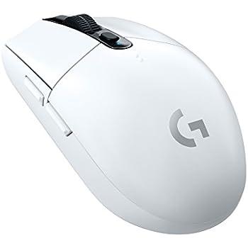 Logicool G ゲーミングマウス ワイヤレス G304rWH ホワイト LIGHTSPEED 無線 99g 軽量 ゲームマウス HEROセンサー G304 国内正規品 2年間メーカー保証