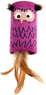 Gigwi Melody Chaser Tube Owl Cat Toy