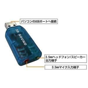 響音3 SD-U1SOUND-M3 USBサウンドアダプタ