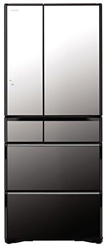 日立 冷蔵庫 クリスタルミラー R-WX6200G X