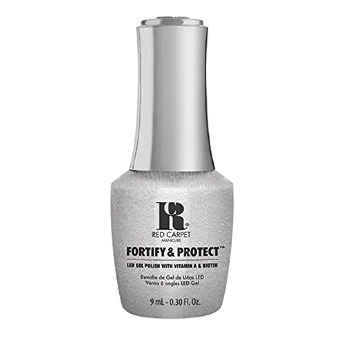 機械的に知る悪因子Red Carpet Manicure - Fortify & Protect - Silver Screen Starlet - 9ml / 0.30oz