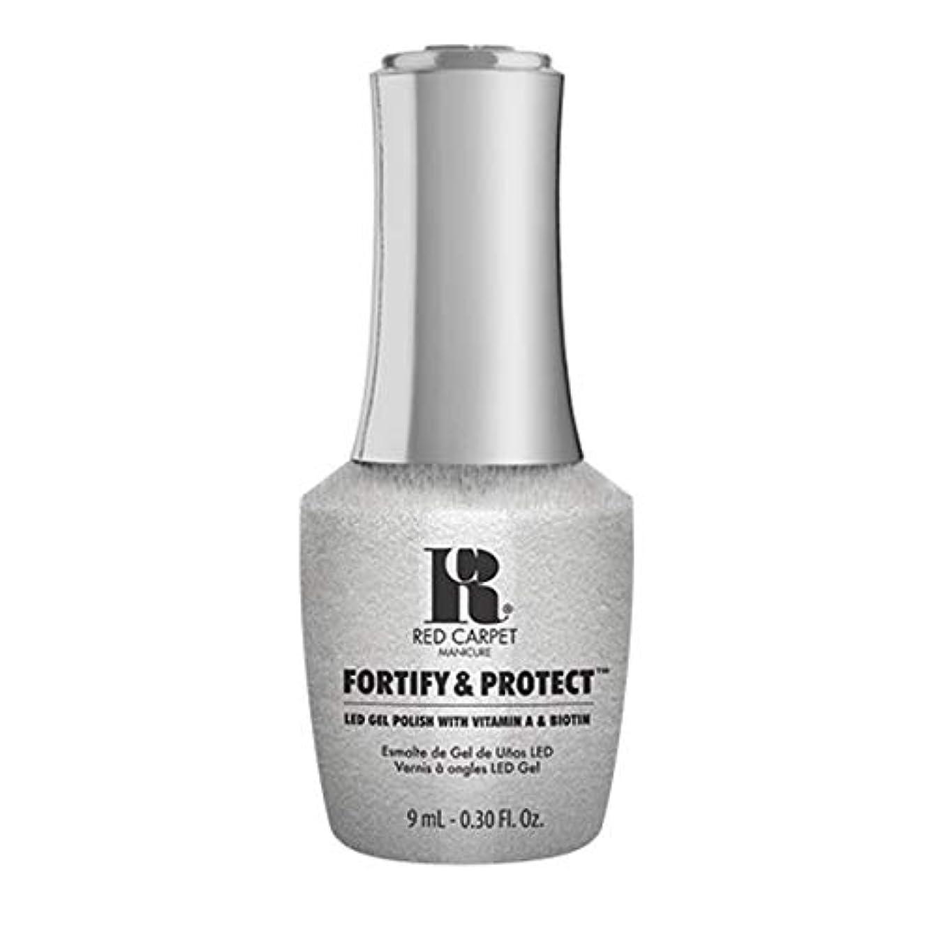 鎮静剤メディカル可能Red Carpet Manicure - Fortify & Protect - Silver Screen Starlet - 9ml / 0.30oz
