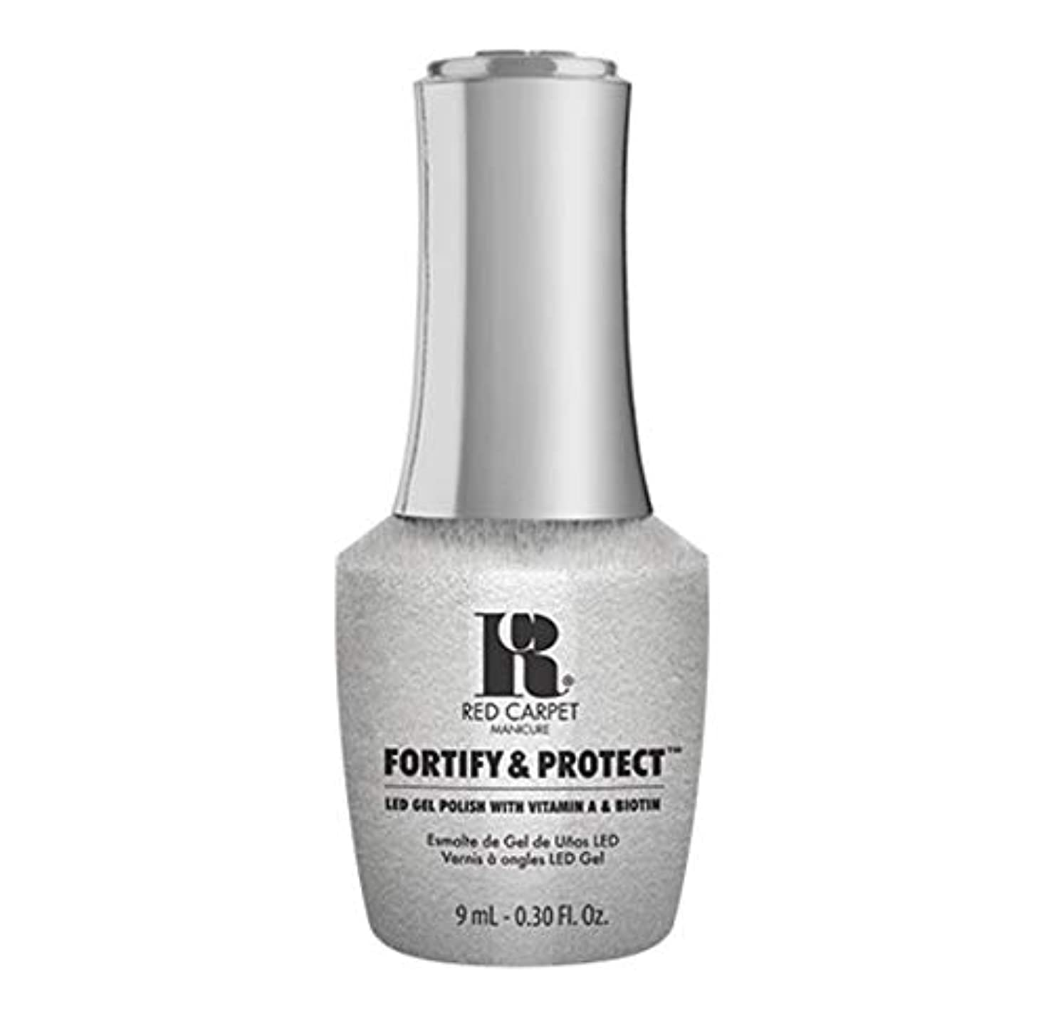 大学院レビュージェムRed Carpet Manicure - Fortify & Protect - Silver Screen Starlet - 9ml / 0.30oz