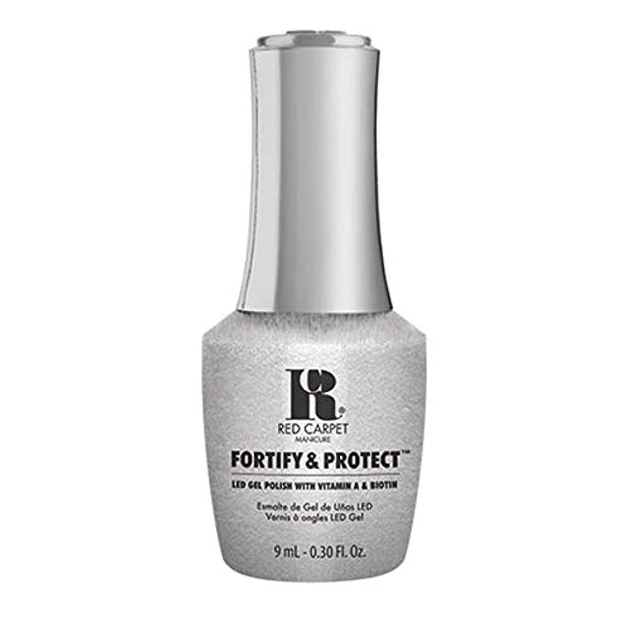 まぶしさワーム物理学者Red Carpet Manicure - Fortify & Protect - Silver Screen Starlet - 9ml / 0.30oz