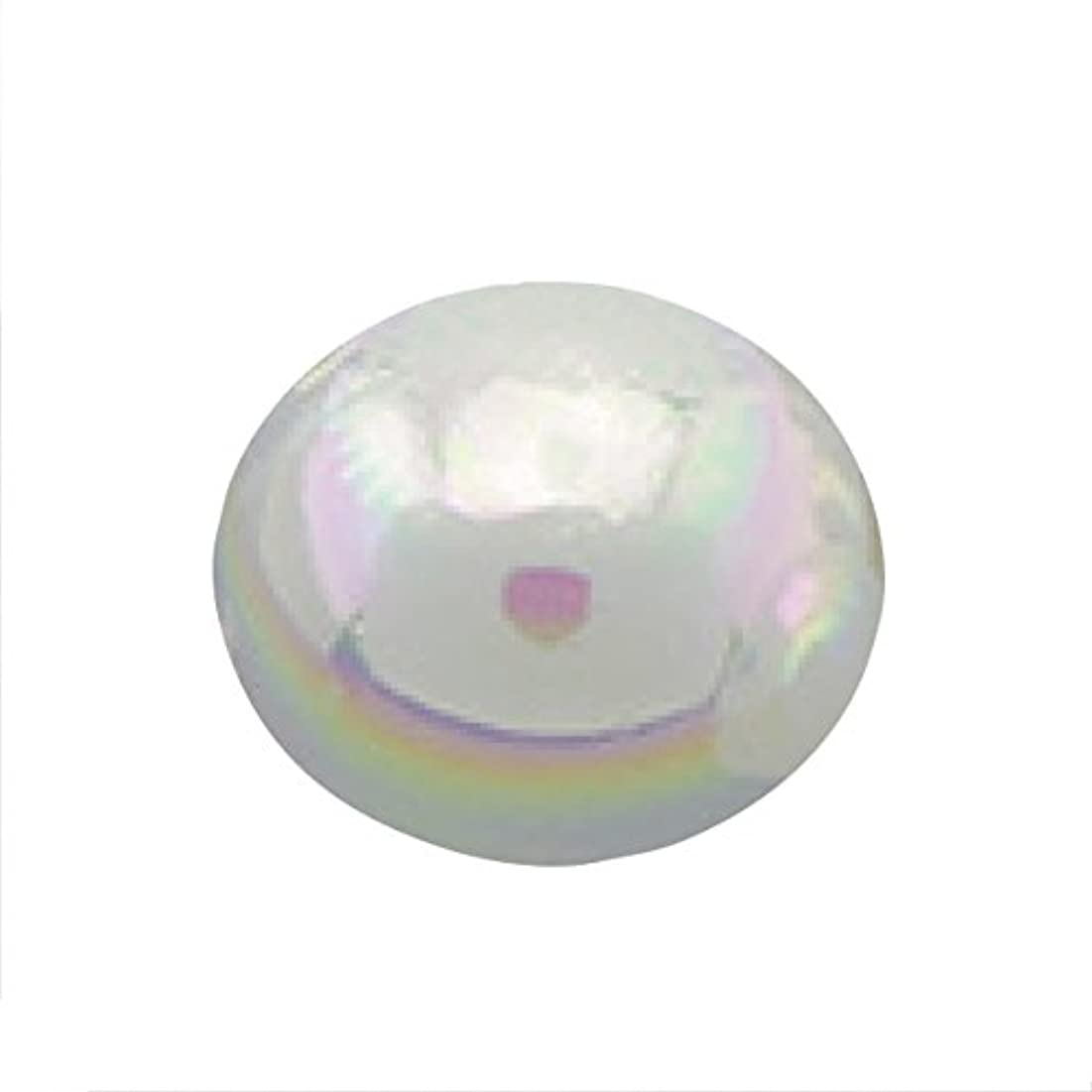 ほぼ粘性のマングルパールオーロラオフホワイト1.5mm(50個入り)
