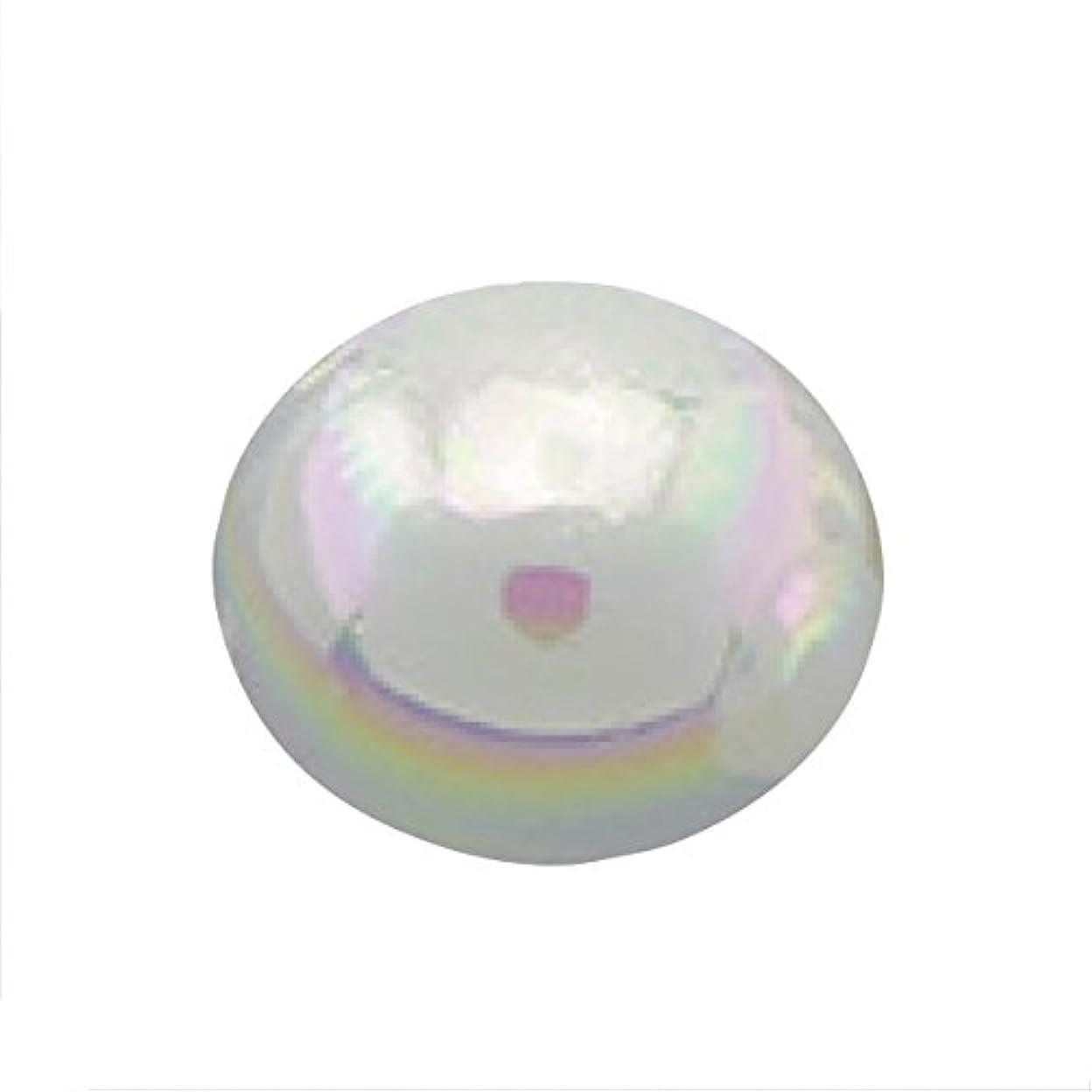 パプアニューギニアモンク巻き取りパールオーロラオフホワイト1.5mm(50個入り)