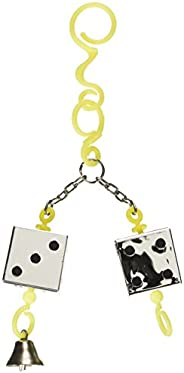JW Pet Insight Dice Bird Toy, Beige, 28 Count