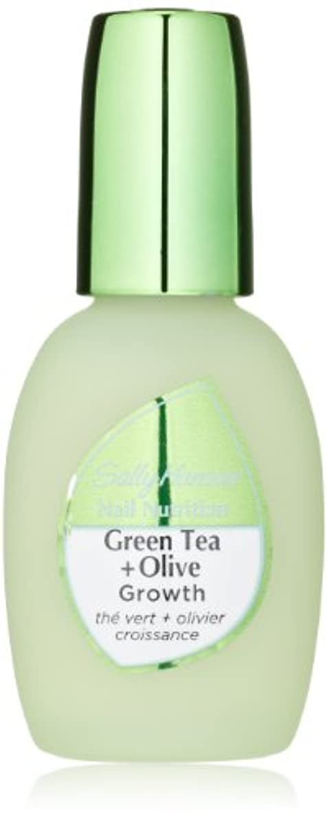 皮肉な巡礼者句読点Sally Hansen Nail Nutrition Green Tea + Olive 13.3 ml (並行輸入品)
