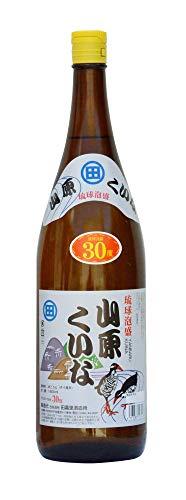 山原くいな 泡盛 瓶 30度 1800ml