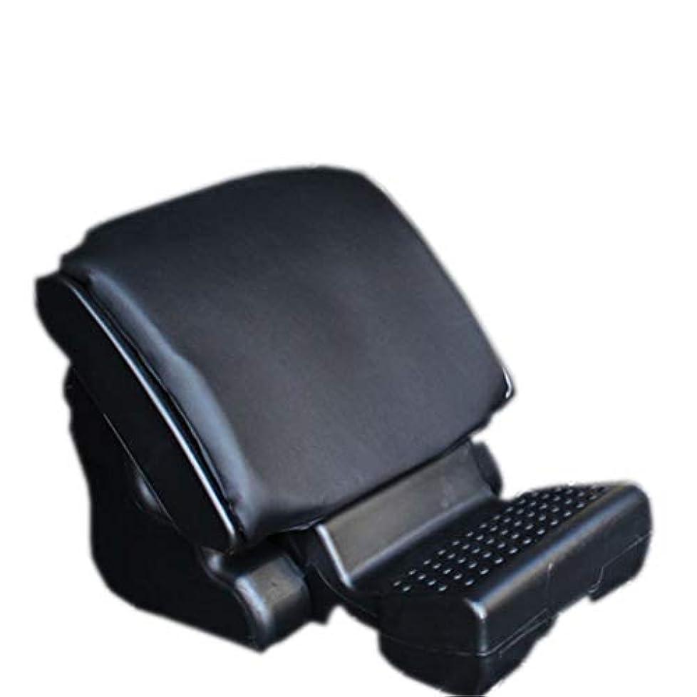 コイル試みる偽車の座席フットレストパッド、車のための人間工学的の足のマッサージのクッション、家、オフィス、よりよい循環のための高い足,Black