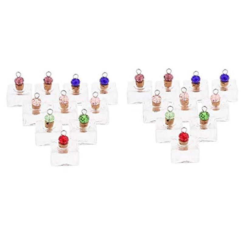 書士滑る贅沢P Prettyia 香水 ペンダント ネックレス アロマ ガラス容器 香水瓶 ボトル エッセンシャルオイル