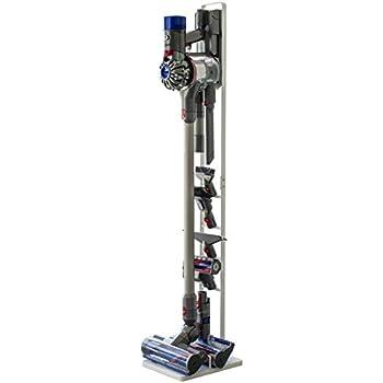 山崎実業 コードレスクリーナースタンド タワー V8 V7 V6 シリーズ対応 ホワイト 約22X29X127cm tower 3540