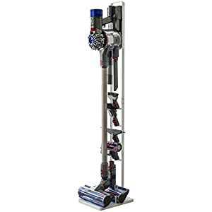 山崎実業 コードレスクリーナースタンド タワー V10 V8 V7 V6 シリーズ対応 ホワイト 約22X29X127cm tower 3540