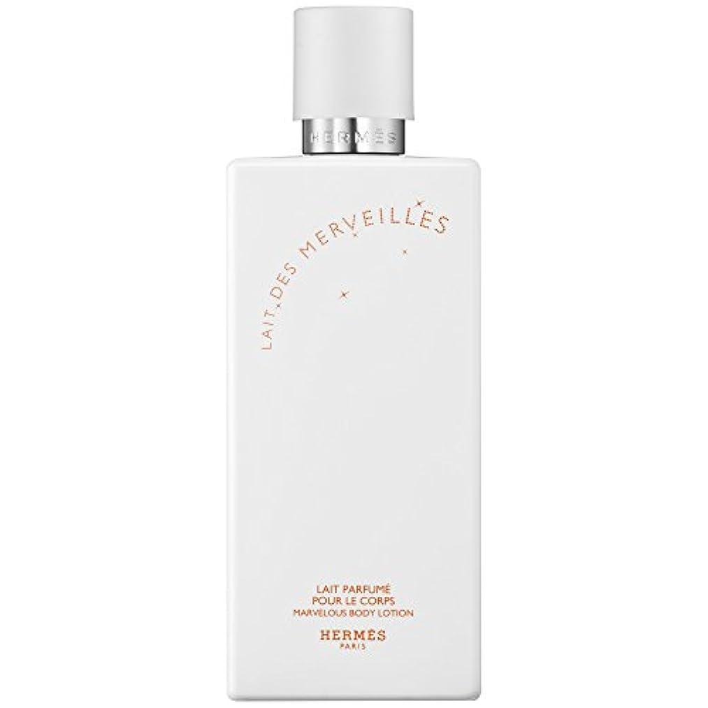 死ぬ分岐するボードエルメスオーデMerveilles香りのボディローション200ミリリットル (HERM?S) (x6) - HERM?S Eau Des Merveilles Perfumed Body Lotion 200ml (Pack...