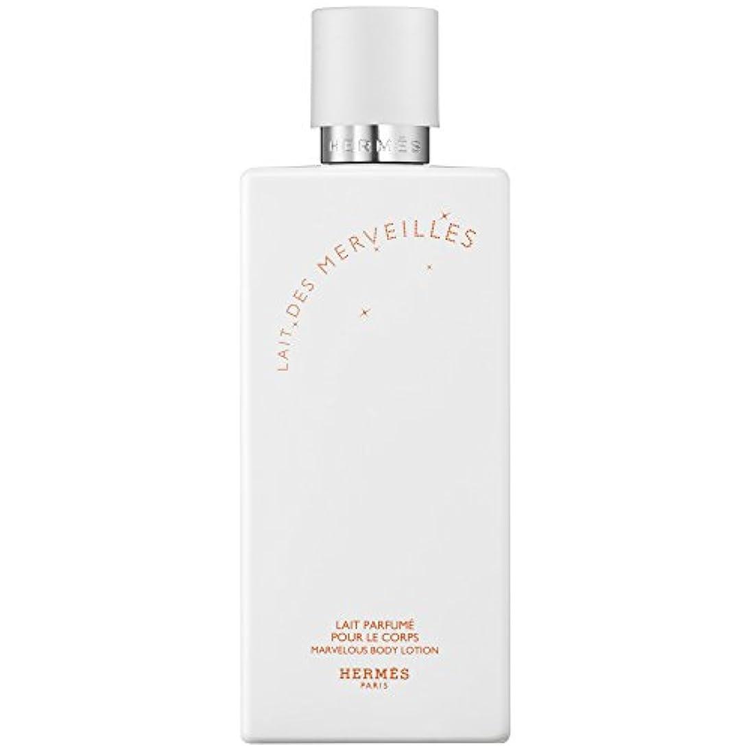 はずヤング確率エルメスオーデMerveilles香りのボディローション200ミリリットル (HERM?S) (x2) - HERM?S Eau Des Merveilles Perfumed Body Lotion 200ml (Pack...