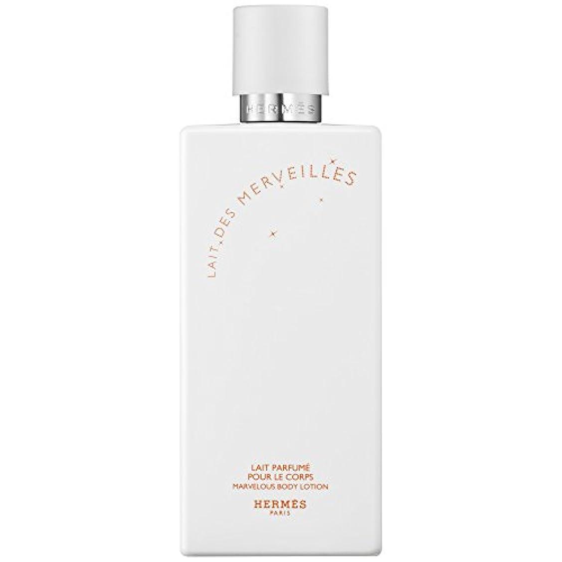 パース節約行進エルメスオーデMerveilles香りのボディローション200ミリリットル (HERM?S) (x6) - HERM?S Eau Des Merveilles Perfumed Body Lotion 200ml (Pack...