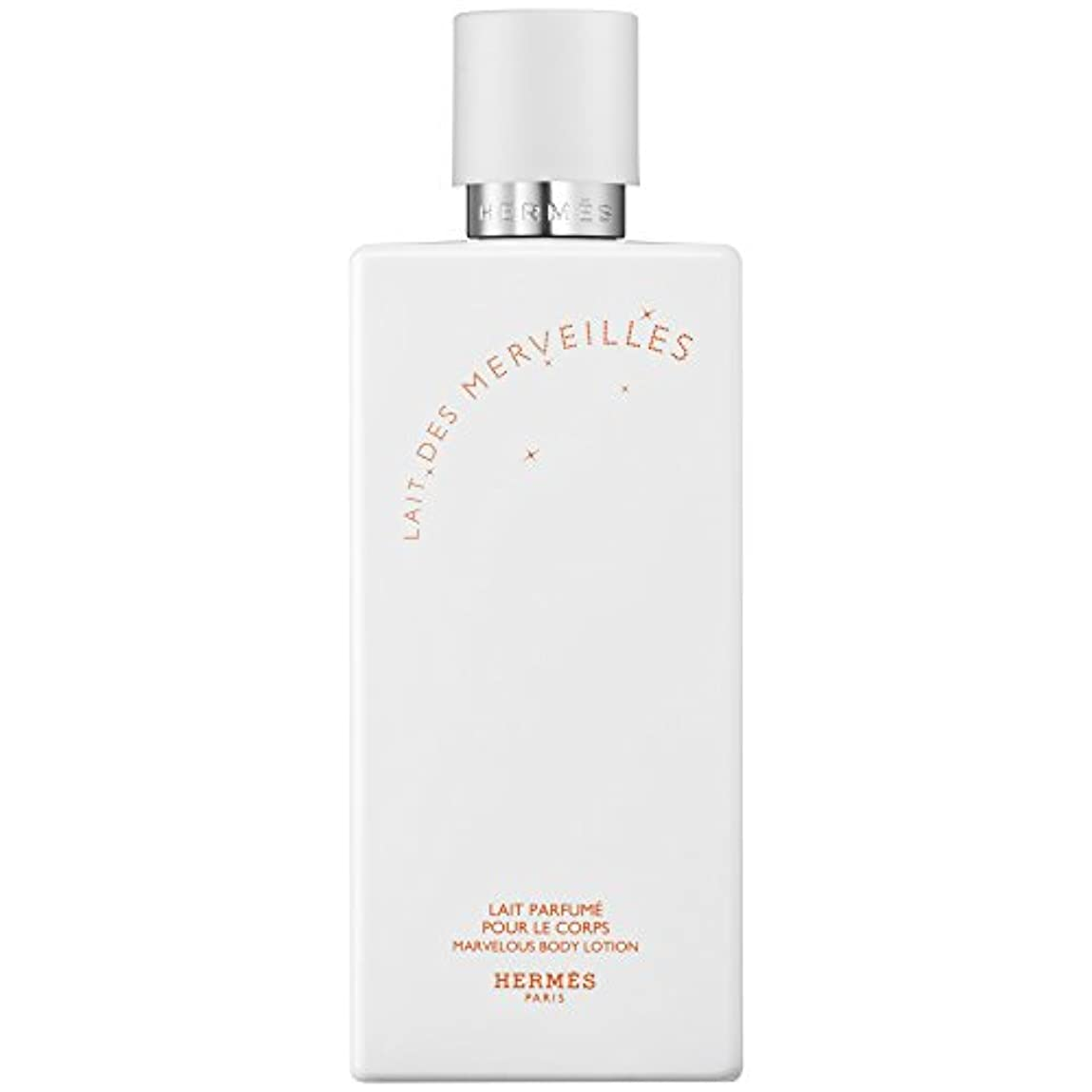 寄付話す大腿エルメスオーデMerveilles香りのボディローション200ミリリットル (HERM?S) (x2) - HERM?S Eau Des Merveilles Perfumed Body Lotion 200ml (Pack...