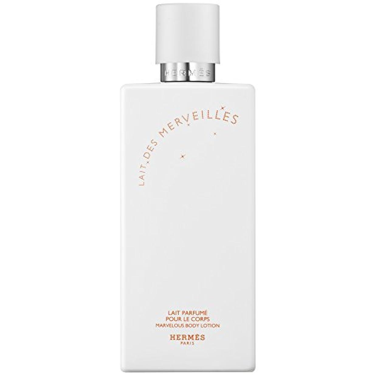 飢えた極めてチェリーエルメスオーデMerveilles香りのボディローション200ミリリットル (HERM?S) - HERM?S Eau Des Merveilles Perfumed Body Lotion 200ml [並行輸入品]