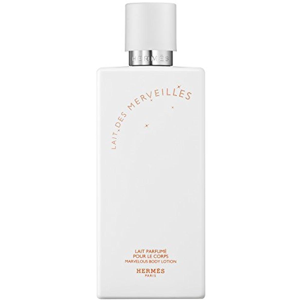 エルメスオーデMerveilles香りのボディローション200ミリリットル (HERM?S) (x2) - HERM?S Eau Des Merveilles Perfumed Body Lotion 200ml (Pack...