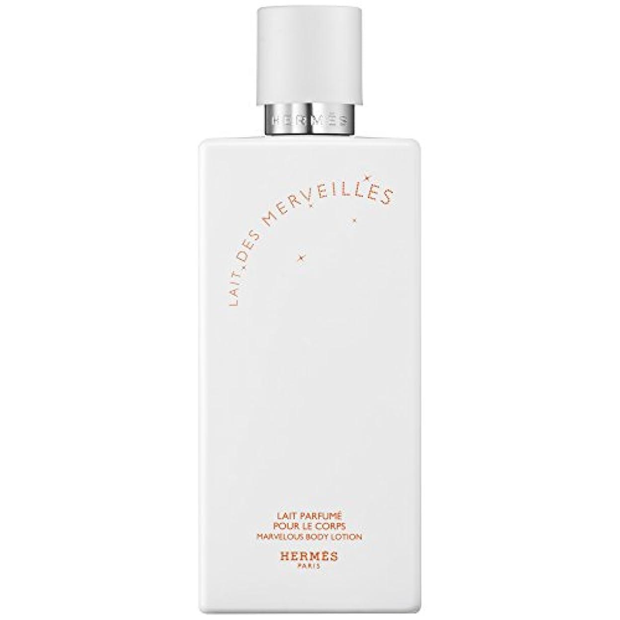 土曜日こどもセンター振る舞うエルメスオーデMerveilles香りのボディローション200ミリリットル (HERM?S) (x6) - HERM?S Eau Des Merveilles Perfumed Body Lotion 200ml (Pack...