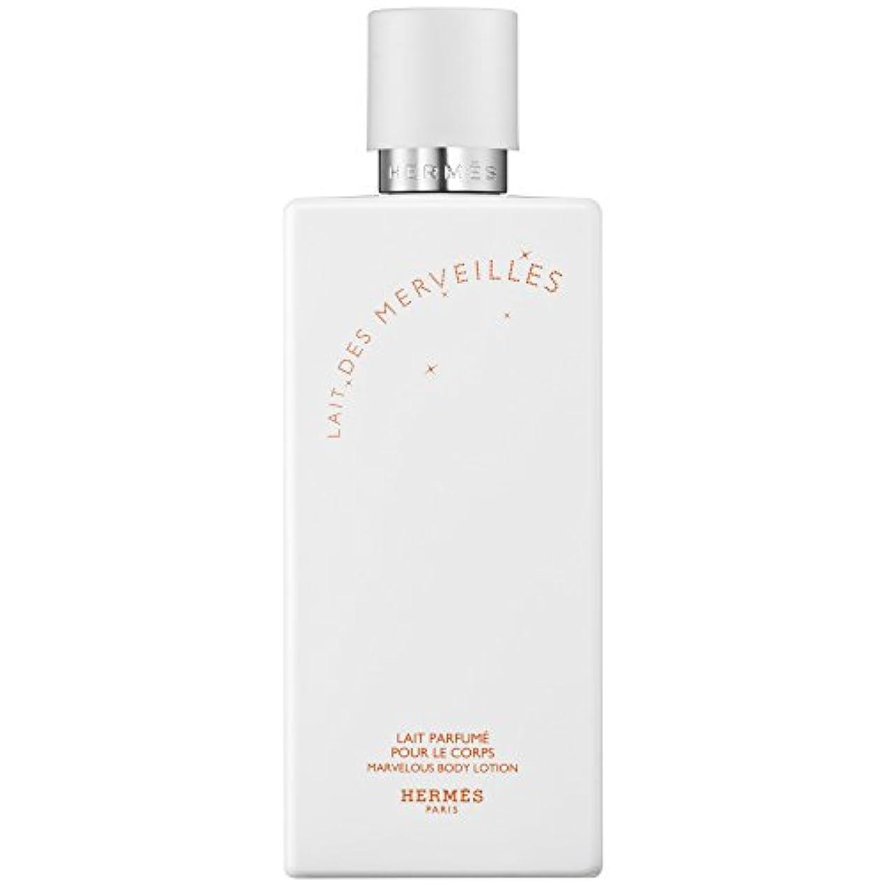 中間ドアミラー保持エルメスオーデMerveilles香りのボディローション200ミリリットル (HERM?S) (x6) - HERM?S Eau Des Merveilles Perfumed Body Lotion 200ml (Pack...