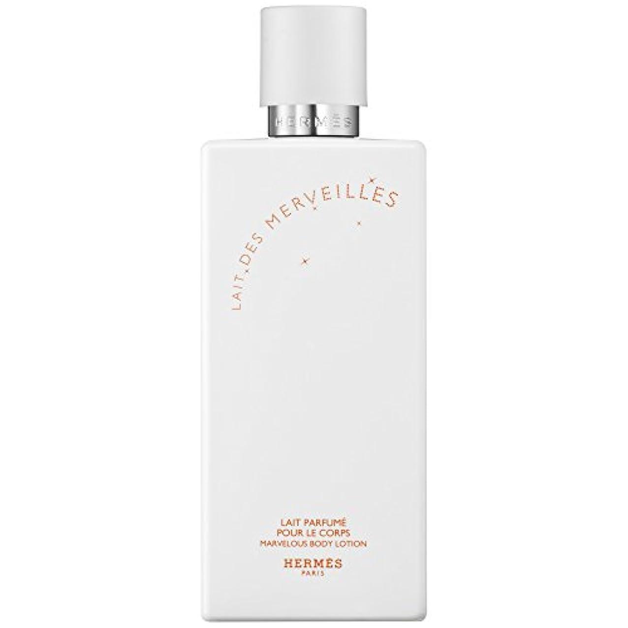 フィット排泄するメロドラマエルメスオーデMerveilles香りのボディローション200ミリリットル (HERM?S) (x2) - HERM?S Eau Des Merveilles Perfumed Body Lotion 200ml (Pack...