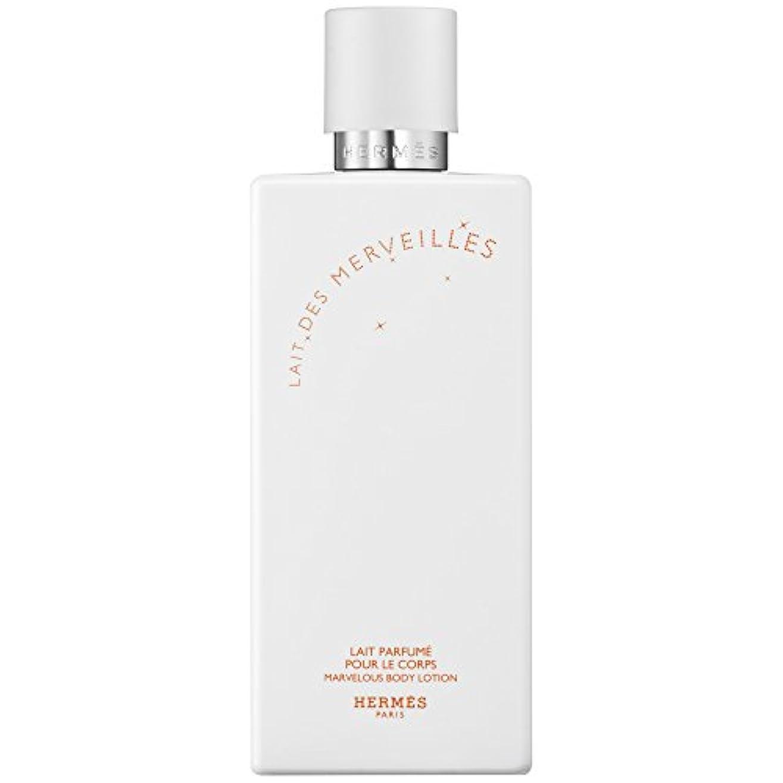 傭兵効果的欠伸エルメスオーデMerveilles香りのボディローション200ミリリットル (HERM?S) (x6) - HERM?S Eau Des Merveilles Perfumed Body Lotion 200ml (Pack...