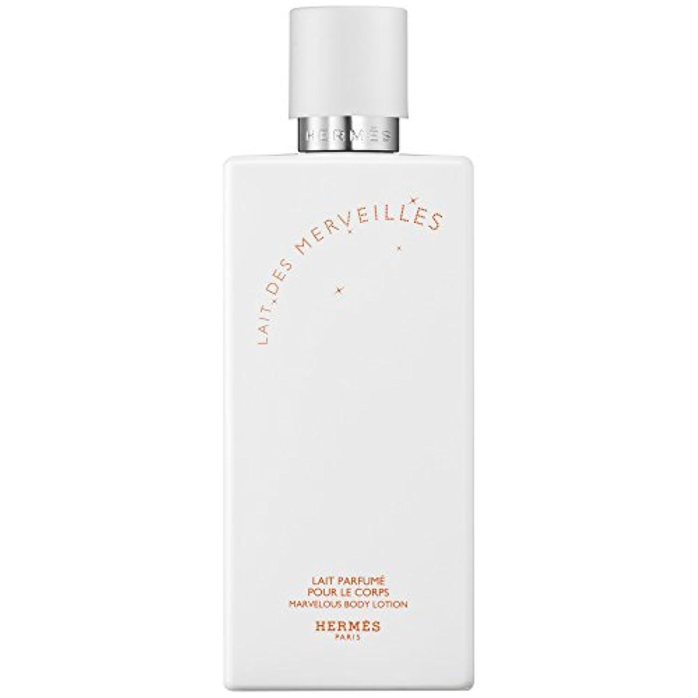 国民囲む冷えるエルメスオーデMerveilles香りのボディローション200ミリリットル (HERM?S) (x6) - HERM?S Eau Des Merveilles Perfumed Body Lotion 200ml (Pack...