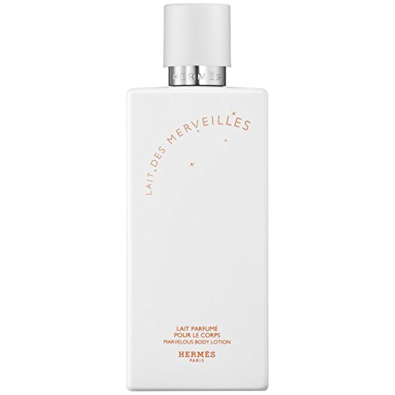 キャップセント検出可能エルメスオーデMerveilles香りのボディローション200ミリリットル (HERM?S) (x6) - HERM?S Eau Des Merveilles Perfumed Body Lotion 200ml (Pack...