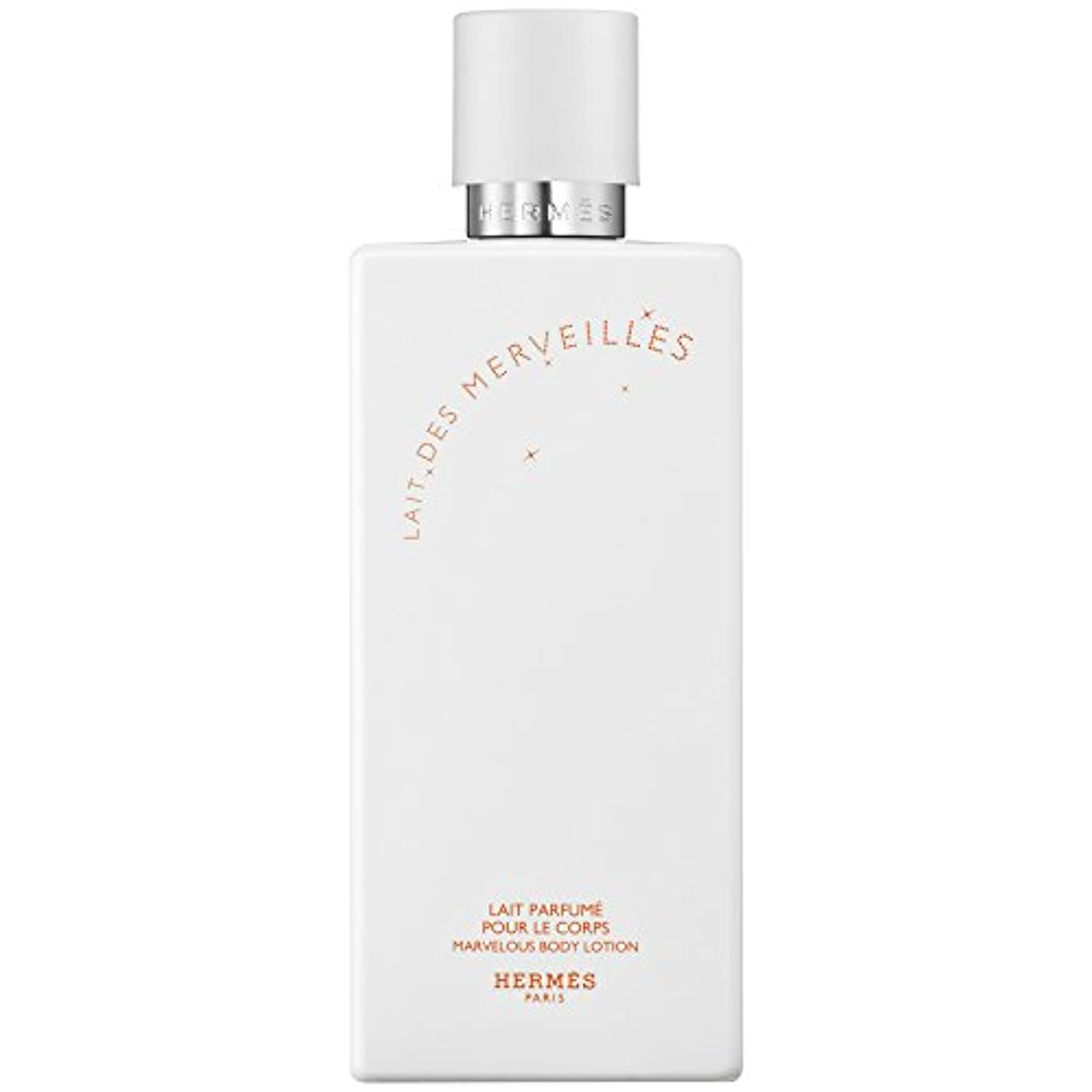 立場交換メッセンジャーエルメスオーデMerveilles香りのボディローション200ミリリットル (HERM?S) (x6) - HERM?S Eau Des Merveilles Perfumed Body Lotion 200ml (Pack...