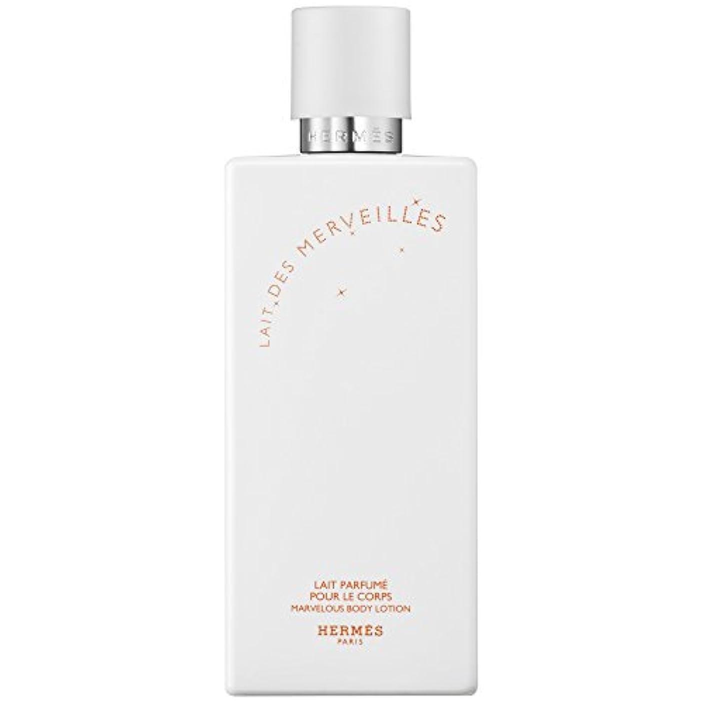接続された振り子移行するエルメスオーデMerveilles香りのボディローション200ミリリットル (HERM?S) (x2) - HERM?S Eau Des Merveilles Perfumed Body Lotion 200ml (Pack...