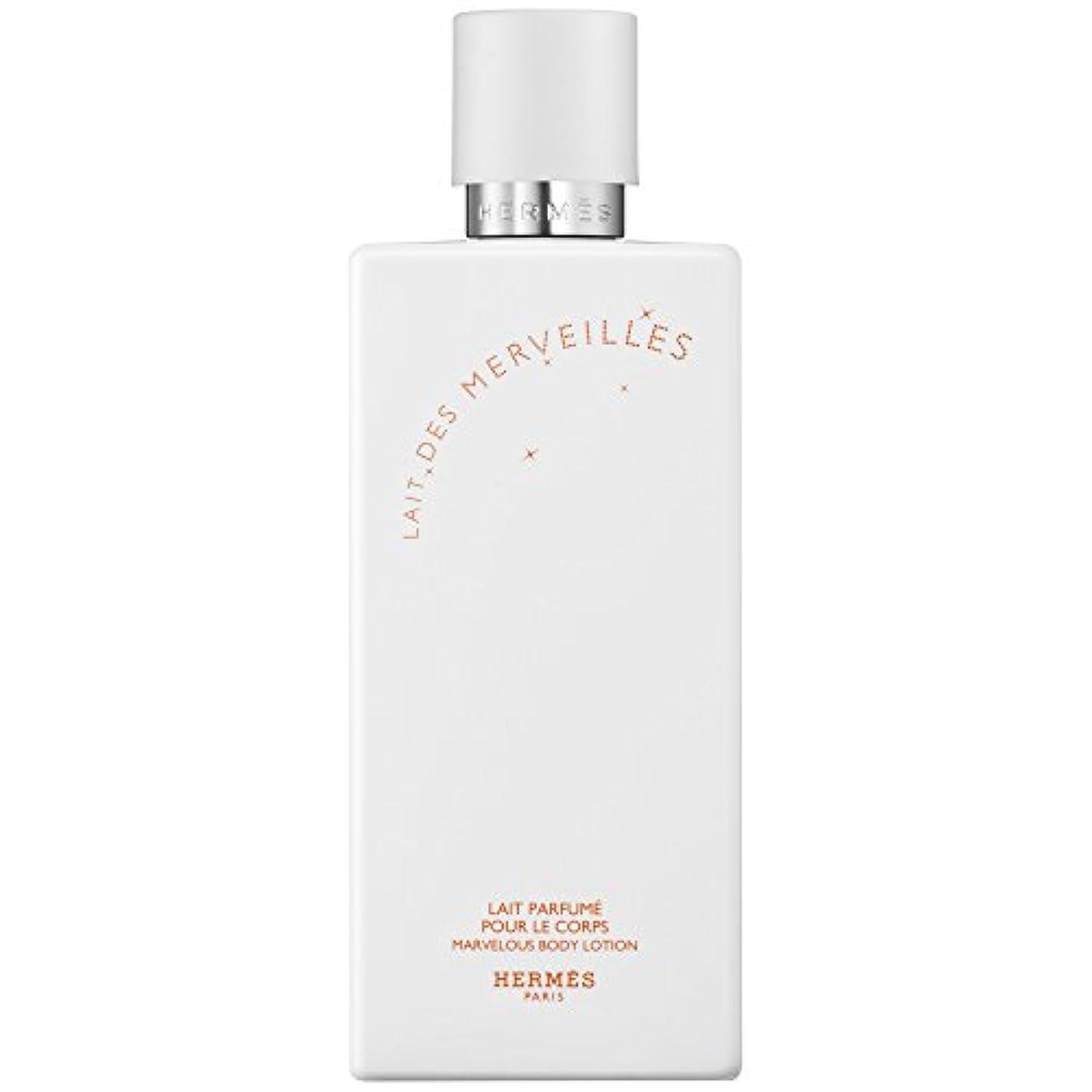 種症候群受け皿エルメスオーデMerveilles香りのボディローション200ミリリットル (HERM?S) (x6) - HERM?S Eau Des Merveilles Perfumed Body Lotion 200ml (Pack...