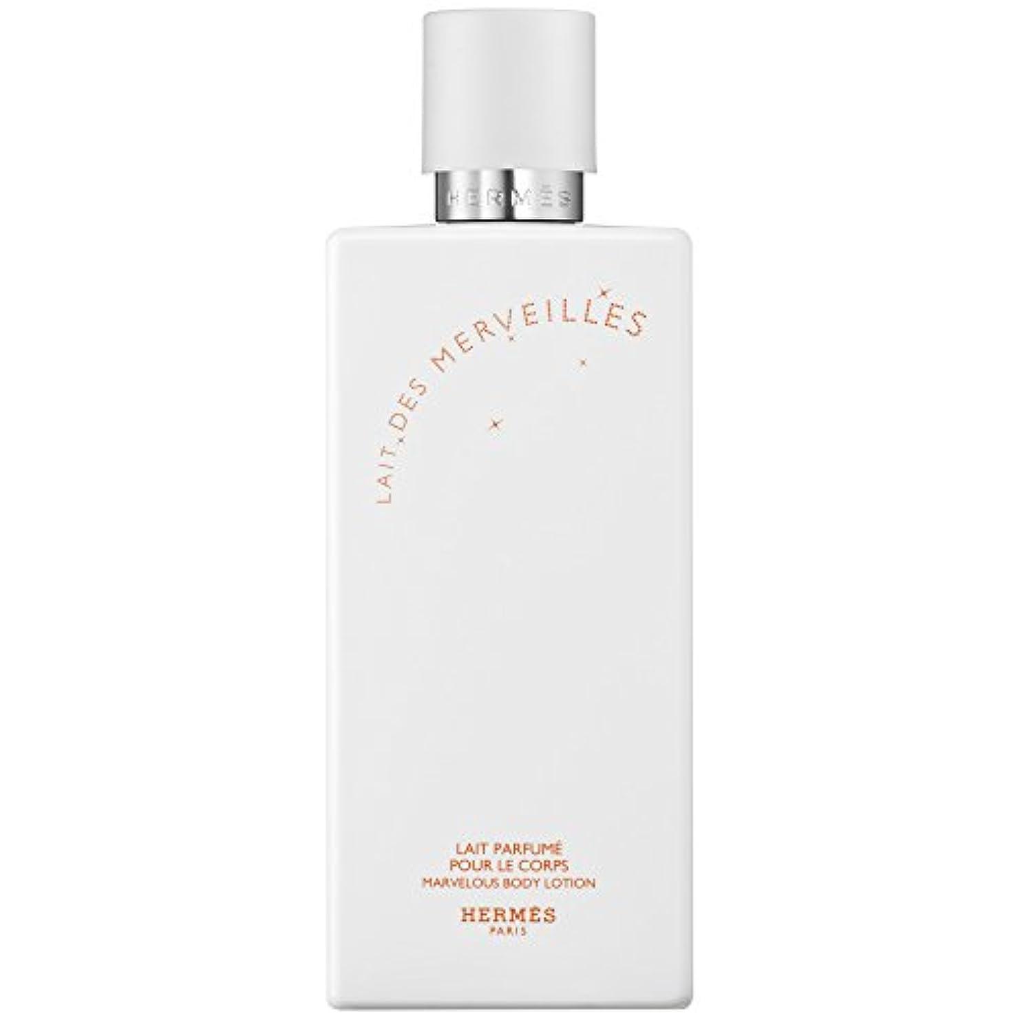 プット老人除外するエルメスオーデMerveilles香りのボディローション200ミリリットル (HERM?S) - HERM?S Eau Des Merveilles Perfumed Body Lotion 200ml [並行輸入品]