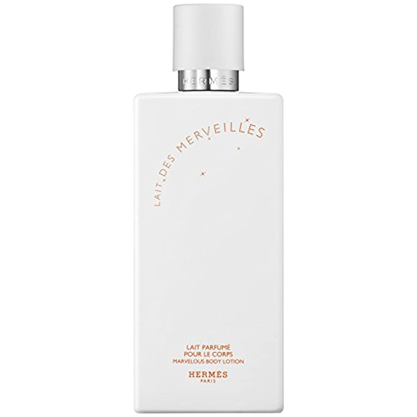 ポップ引数乱すエルメスオーデMerveilles香りのボディローション200ミリリットル (HERM?S) (x2) - HERM?S Eau Des Merveilles Perfumed Body Lotion 200ml (Pack...