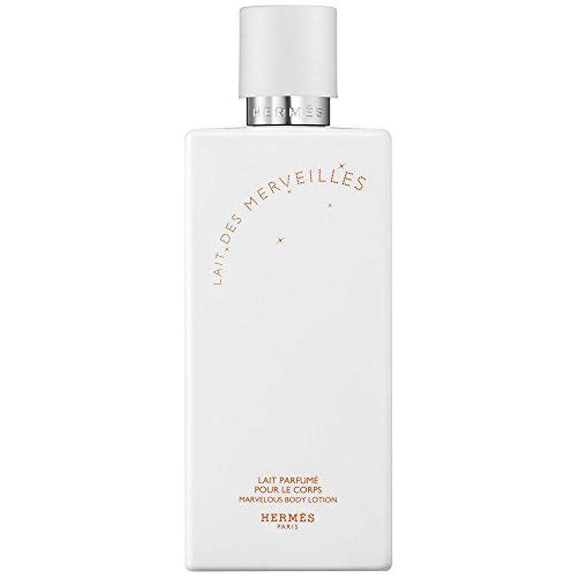 スコットランド人キーヶ月目エルメスオーデMerveilles香りのボディローション200ミリリットル (HERM?S) (x6) - HERM?S Eau Des Merveilles Perfumed Body Lotion 200ml (Pack...