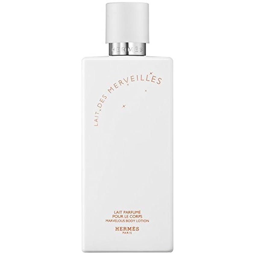 リラックスしたフェデレーション故障中エルメスオーデMerveilles香りのボディローション200ミリリットル (HERM?S) (x6) - HERM?S Eau Des Merveilles Perfumed Body Lotion 200ml (Pack...