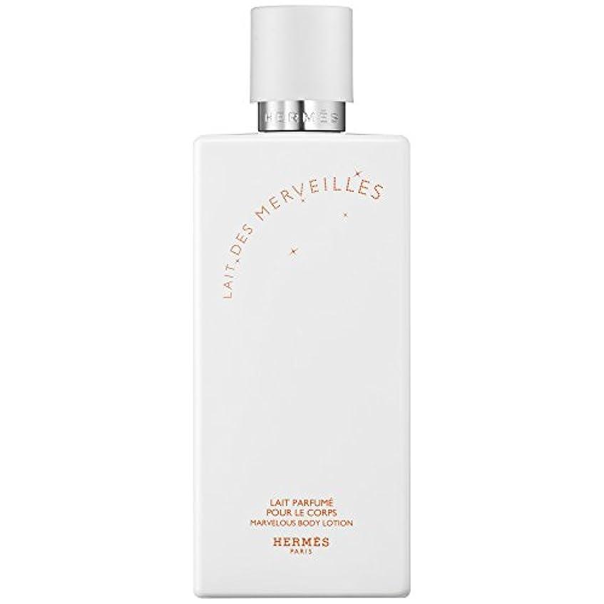 キモい癒す伝染病エルメスオーデMerveilles香りのボディローション200ミリリットル (HERM?S) (x6) - HERM?S Eau Des Merveilles Perfumed Body Lotion 200ml (Pack...
