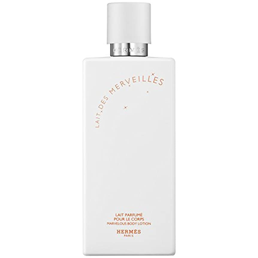 ピジン賠償タイプライターエルメスオーデMerveilles香りのボディローション200ミリリットル (HERM?S) - HERM?S Eau Des Merveilles Perfumed Body Lotion 200ml [並行輸入品]