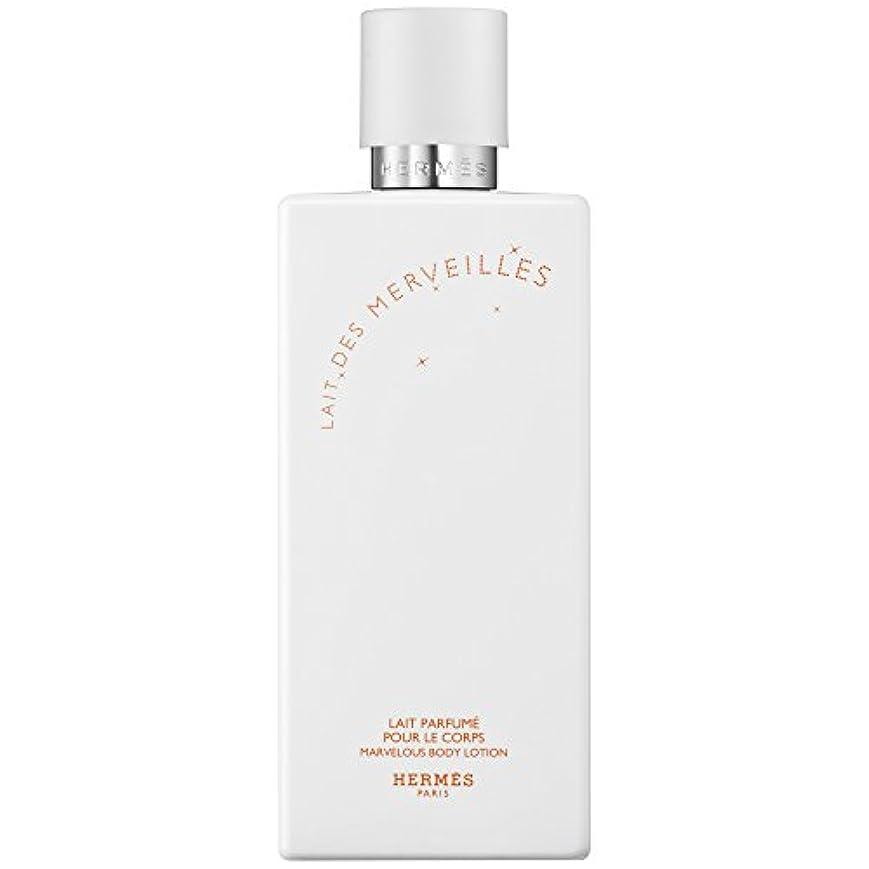 不透明な賞賛するムスタチオエルメスオーデMerveilles香りのボディローション200ミリリットル (HERM?S) (x6) - HERM?S Eau Des Merveilles Perfumed Body Lotion 200ml (Pack...