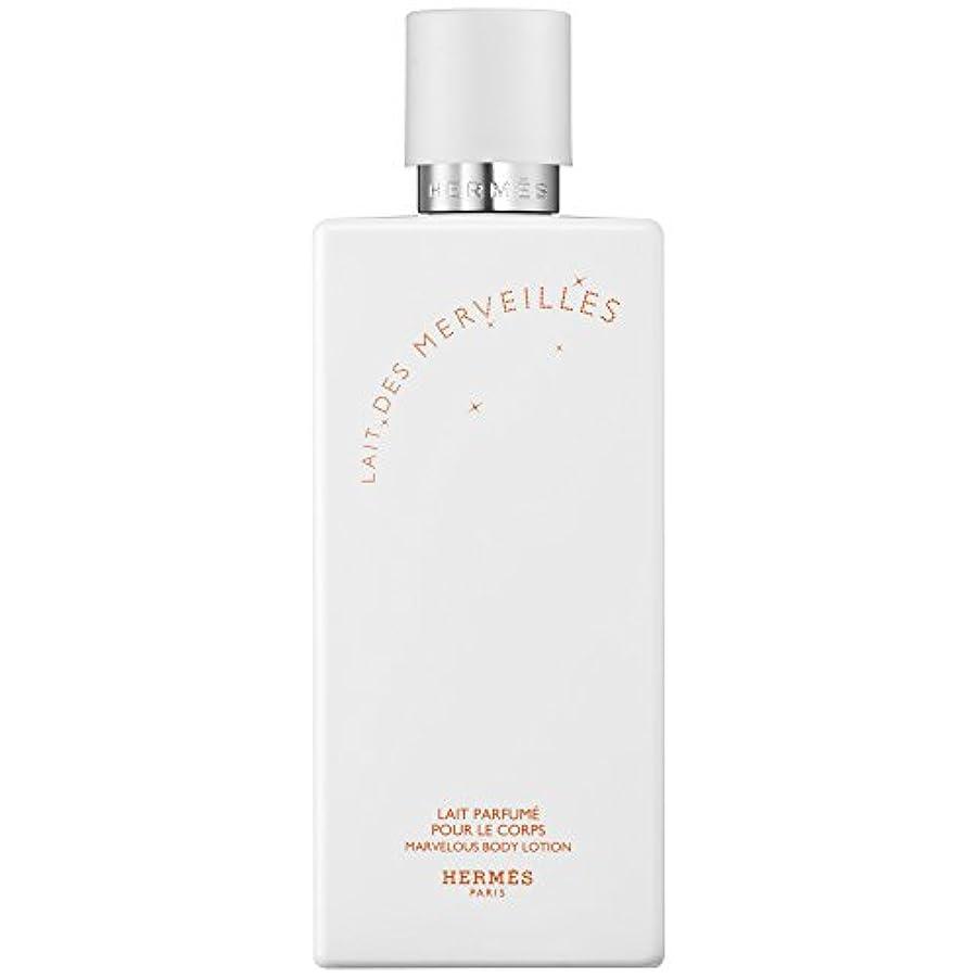 とまり木消化しなければならないエルメスオーデMerveilles香りのボディローション200ミリリットル (HERM?S) (x6) - HERM?S Eau Des Merveilles Perfumed Body Lotion 200ml (Pack...