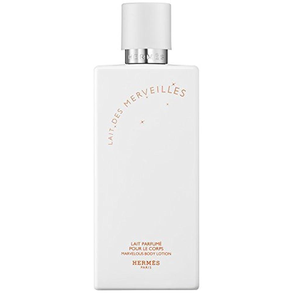 破壊するホットデンマークエルメスオーデMerveilles香りのボディローション200ミリリットル (HERM?S) (x6) - HERM?S Eau Des Merveilles Perfumed Body Lotion 200ml (Pack...