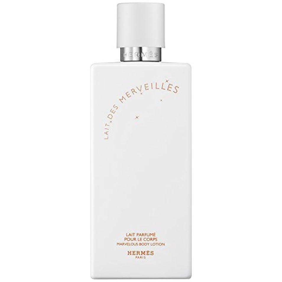 自然公園不変母音エルメスオーデMerveilles香りのボディローション200ミリリットル (HERM?S) (x6) - HERM?S Eau Des Merveilles Perfumed Body Lotion 200ml (Pack...