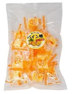 パイン糖 ピロー (加工) 140g×6袋 わかまつどう製菓 沖縄土産に最適 個包装タイプ 行楽やお茶請けに