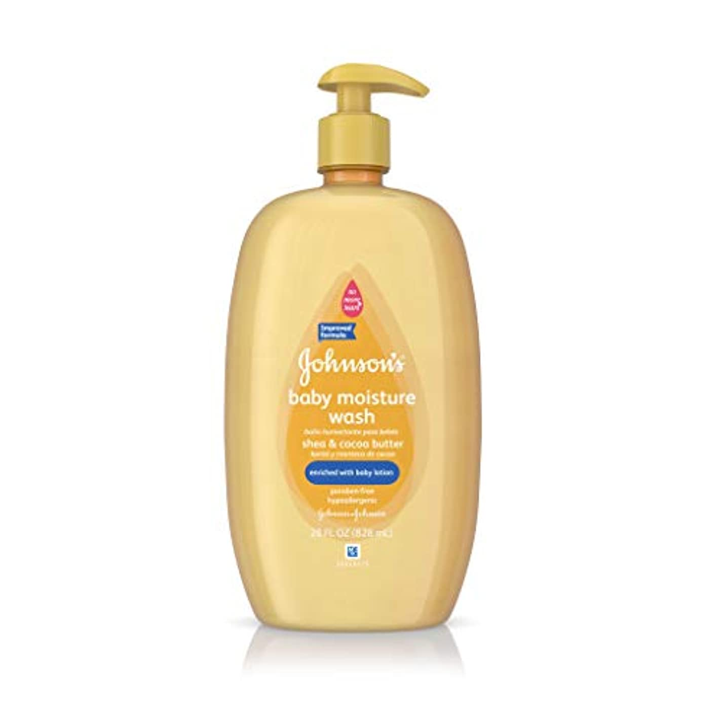 リダクター補正壮大なJohnson's Baby Wash Shea & Cocoa Butter 798 ml (Pack of 3) (並行輸入品)