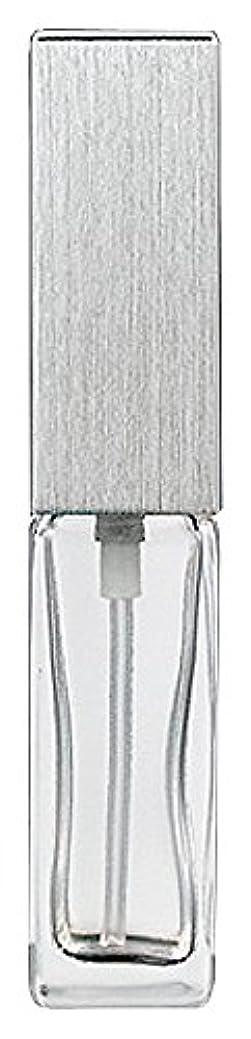 回答好きストレスの多いヤマダアトマイザー 15491 メンズアトマイザー角ビン クリア キャップ ヘアラインシルバー 単品