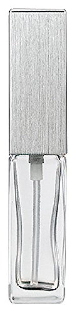 ストリップ宝珍味ヤマダアトマイザー 15491 メンズアトマイザー角ビン クリア キャップ ヘアラインシルバー 単品