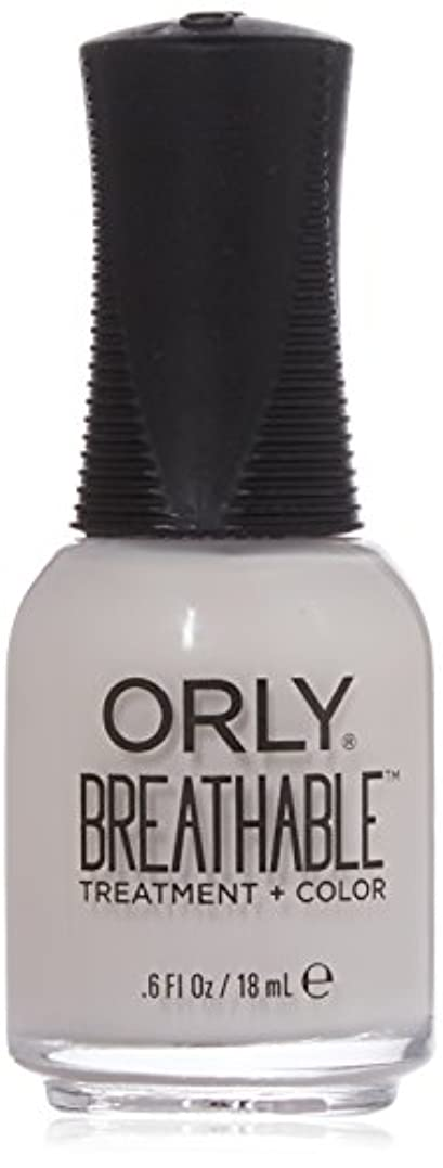 Orly Breathable Treatment + Color Nail Lacquer - Light as a Feather - 0.6oz / 18ml