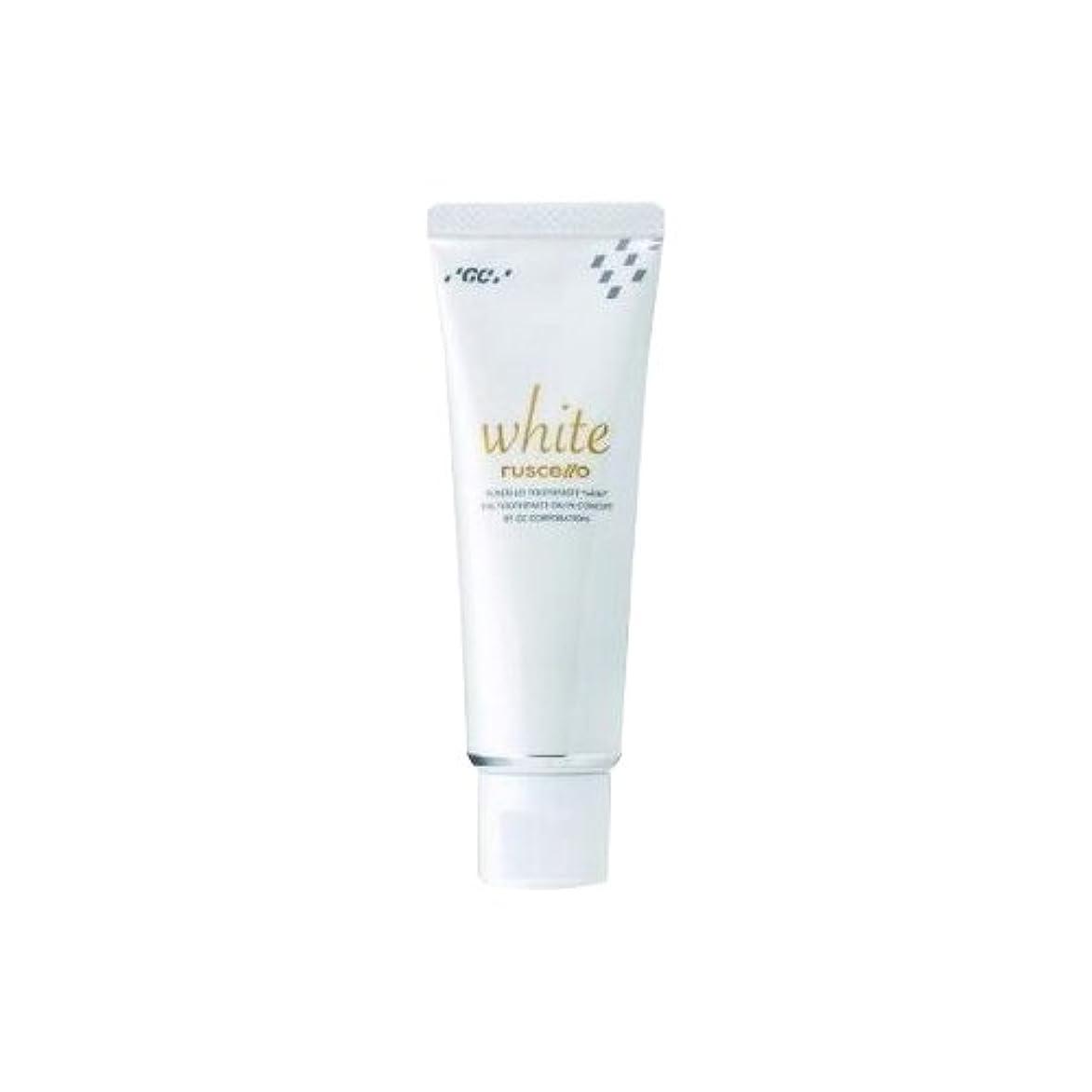 ベッドヘロイン摂動GC ルシェロ歯磨きペースト ホワイト 100g (1個)