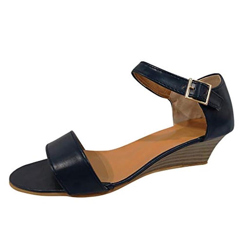 最初液化する一見美脚 ウェッジソール Foreted ミュール サンダル ローヒール 黒 ウエッジ 靴 歩きやすい 疲れないカジュアル コンフォートサンダル ストラップ 痛くない