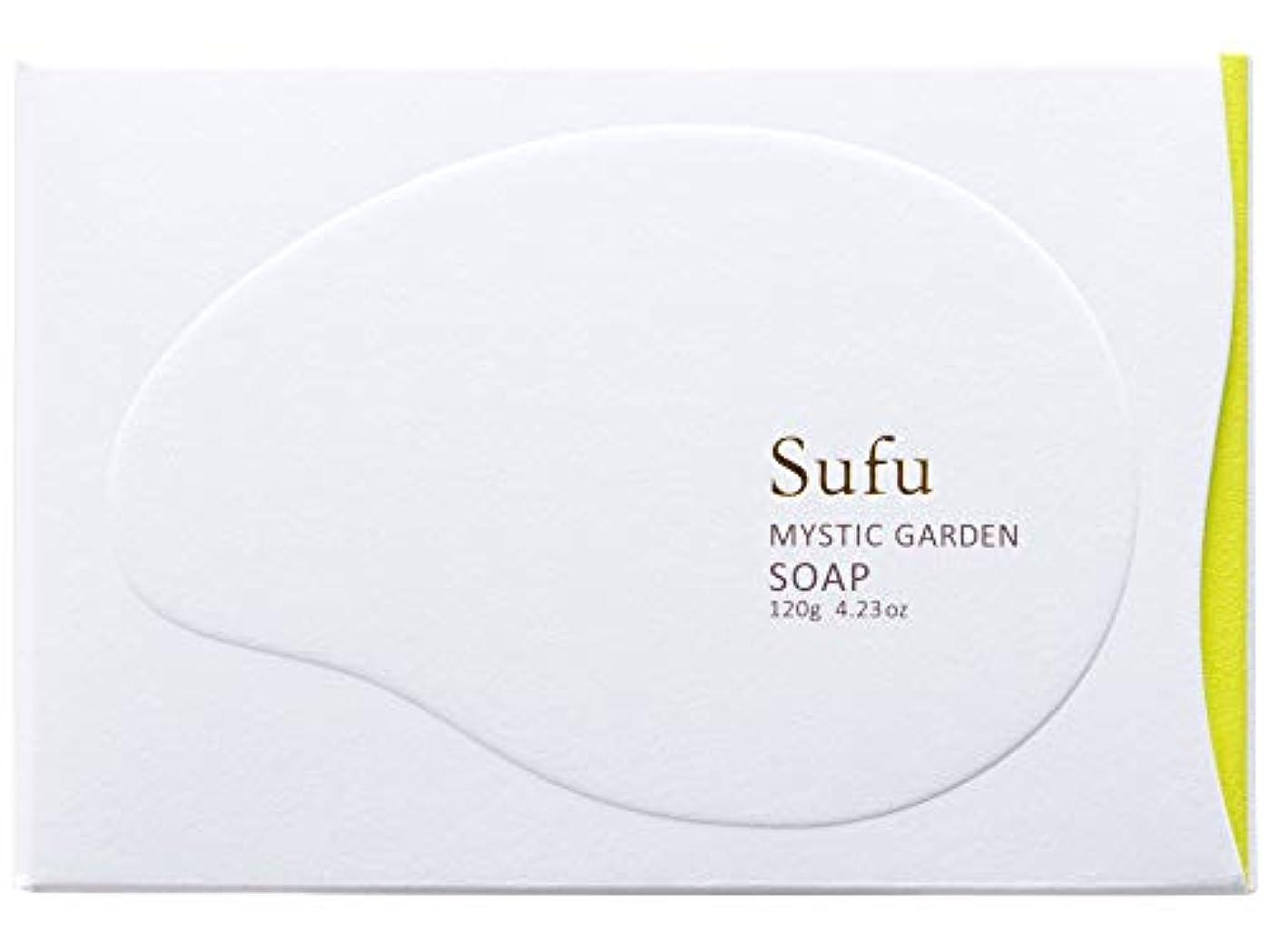 ためらう偉業変化ペリカン石鹸 Sufu ソープ ミスティックガーデン 120g